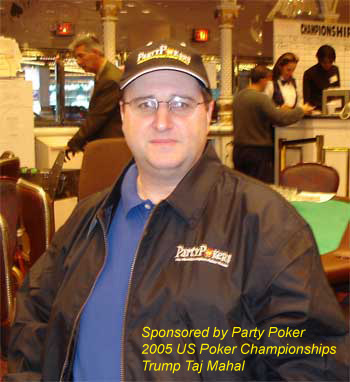 Scott Neuman playing at the US Poker Championships 2005