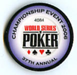 Player Chip from the 2006 World Series of Poker