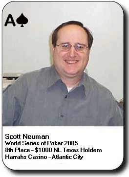 Scott Neuman - World Series of Poker ranked poker player
